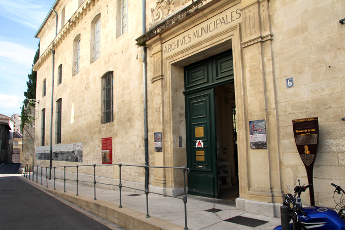 Archives municipales - Photo Y. Schleiss - TDR - AMA